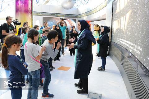 بازدید اعضاء مرکز علوم و نجوم کانون از گنبد مینا