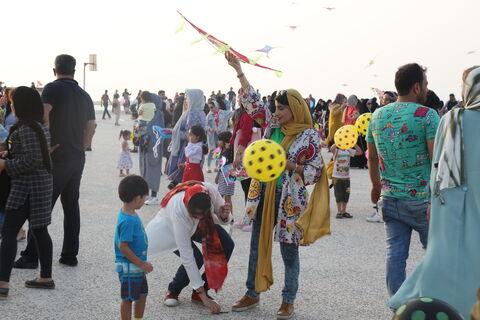 مهرواره بزرگ پرواز بادبادک ها(بوشهر)