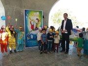 همایش پیاده روی کودکان در شهرستان زیرکوه