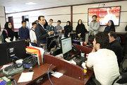 بازدید نوجوانان عضو مراکز کانون تهران از خبرگزاریها