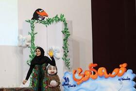 چراغ بیست و دومین جشنواره قصه گویی در خراسان شمالی روشن شد