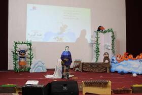 چراغ مرحله استانی بیست و دومین جشنواره قصه گویی در خراسان شمالی روشن شد