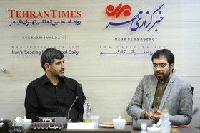 بازدید اعضای نخبه کانون از خبرگزاری مهر