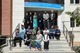 بازدید اعضای فعال مراکز کانون از خبرگزاری ایسنا