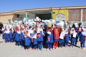 پیک امید در روستای رباط سفید منطقه احمدآباد