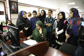 بازدید اعضای نخبه کانون از خبرگزاری فارس