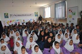 ویژه برنامه های هفتهی ملی کودک در روستای سلطان آباد کرج اجرا شد