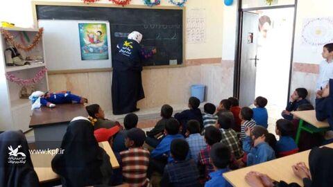 چهارمین سفر کاروان پبک امید کانون خراسان جنوبی به روستای میغان