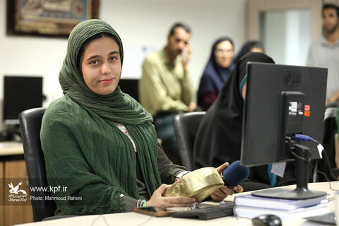 بازدید اعضای نخبه کانون از خبرگزاری ایسنا