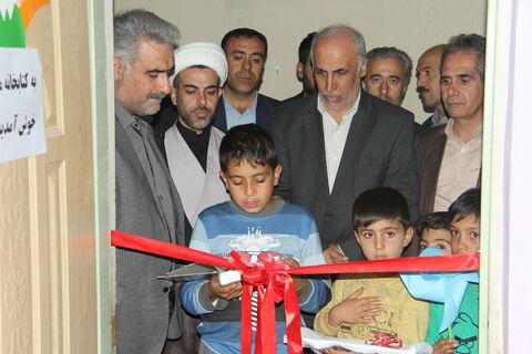 افتتاح کتابخانه در آموزشگاه آیت اله مشکینی سلماس