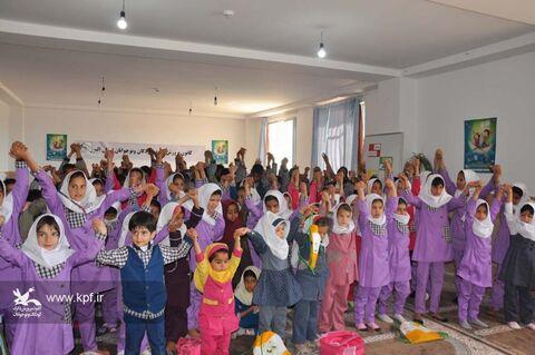 ویژه برنامه های هفتهی ملی کودک در روستای سلطان آباد کرج