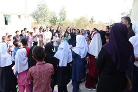 هفته ملی کودک و گل لبخند بر لبان کودکان عشایری گلستان