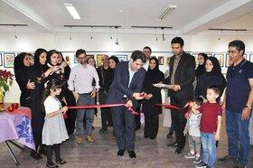 افتتاح نمایشگاه آثار هنری اعضای مراکز کانون در کرج