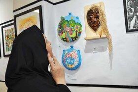 افتتاح نمایشگاه آثار هنری اعضای کانون استان البرز