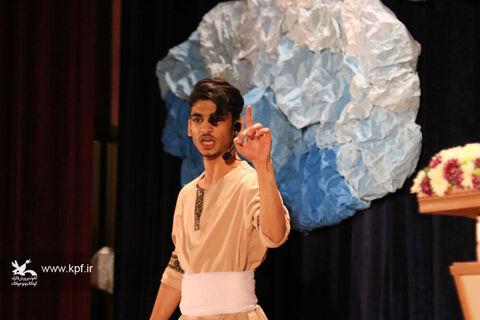 آیین اختتامیه مرحله استانی بیست و دومین جشنواره بین المللی قصه گویی مازندران و تقدیر از برگزیدگان