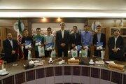 اعضای برگزیده کانون پرورش فکری استان با فرماندار یزد دیدار کردند