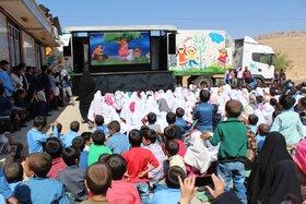 تماشاخانه سیار کانون به روستاهای بوشهر سفر میکند