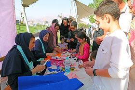 ویژه برنامه روز کودک، خانواده، سبک زندگی ایرانی اسلامی در پارک آب و آتش (۲)
