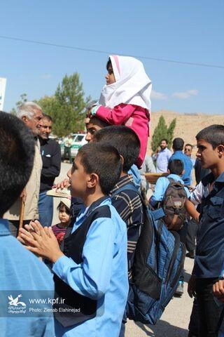 پیک امید در مارگون استان کهگیلویه و بویراحمد