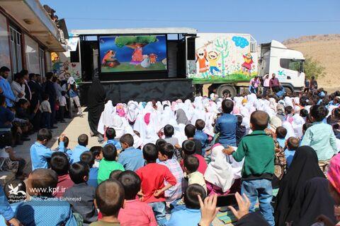"""اجرای گروه امداد فرهنگی """"پیک امید"""" در مارگون"""