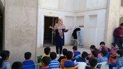 برگزاری ایستگاه قصه گویی در خانه سلطانی موزه مردم شناسی قاین