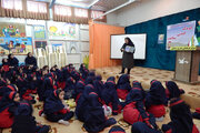 استقبال از فعالیتهای هفته ملی کودک مراکز کانون گیلان (۱)
