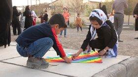 جشن پرواز بادبادکها در مراکز فرهنگیهنری حوزه زاهدان برگزار شد