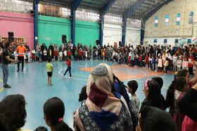 مهروارهی بازی و ورزش کودک در سمنان