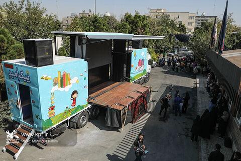 خدماترسانی فرهنگی به کودکان در موکب بچههای اربعین