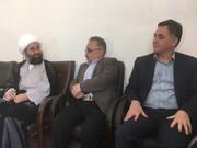 دیدار مدیرکل کانون آذربایجان شرقی با فرماندار و امام جمعه هشترود