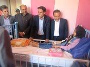 عیادت از  بخش اطفال بیمارستان  حضرت رسول (ص)فردوس در هفته ملی کودک