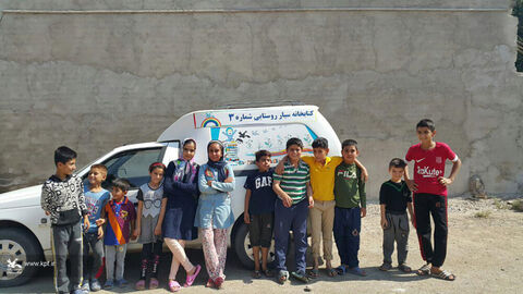 کتاب خانه های سیار روستایی کانون لرستان در هفته ملی کودک