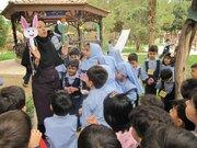 اجرای ویژه برنامه های هفته ملی کودک در شاهین شهر