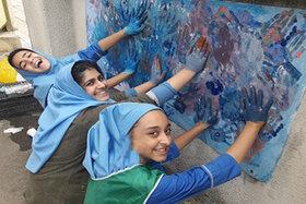 رنگ کودکی در کانون استان گیلان- مرکز فرهنگی هنری شماره 2 بندرانزلی