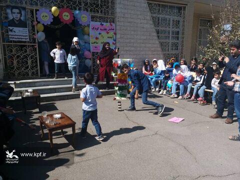 آیینهای بزرگداشت هفته ملی کودک در مراکز کانون آذربایجان شرقی(جشنواره بازی های بومی و محلی)