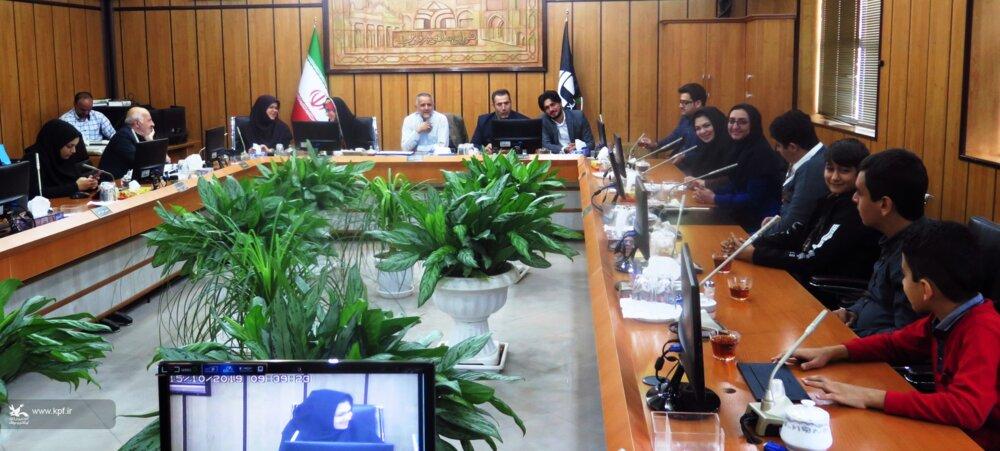 دیدار اعضای کانون با اعضای شورای شهر قزوین