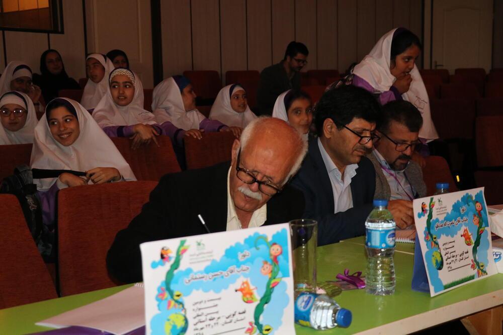 هیئت داوران مرحله استانی بیست و دومین جشنواره قصه گویی گلستان