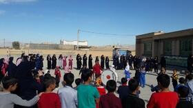 برگزاری مراسم اربعین حسینی در کتابخانه سیار روستایی اسفراین