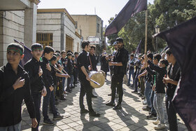 افتتاح هیئت بهشتیان کوچک کانون استان همدان