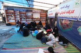 کاروان پیک امید کانون در راهپیمایی اربعین مرز مهران