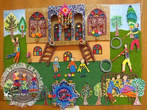 آثار برگزیده نمایشگاه نقاشی سه بعدی بازی های محلی مشخص شدند