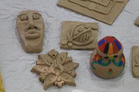 نمایشگاه آثار هنری اعضای مراکز فرهنگی و هنری کانون