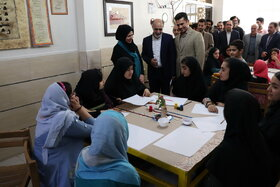 راهاندازی سومین انجمن خوشنویسی نوجوانان کانون خوزستان در اهواز