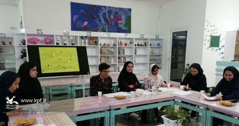 هشتمین نشست انجمن داستان آفرینش د یزد، برگزار شد