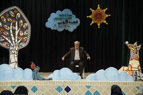 عصرسومین روز برگزاری بیست و دومین جشنوارهی قصهگویی استان یزد- مهر ۹۸