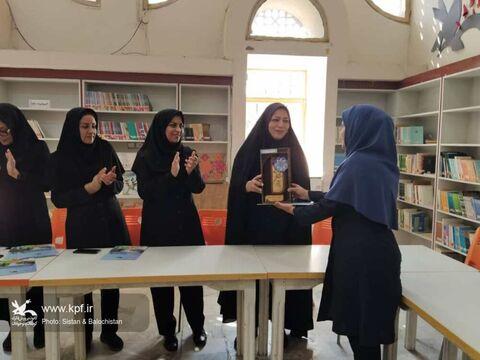 تجلیل از مربیان و اعضای مرکز فرهنگیهنری شماره یک زاهدان