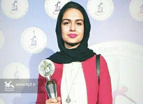 عضو هنرمند کانون کرمانشاه، بهترین بازیگر زن جشنواره تئاتر دربندیخان عراق شد