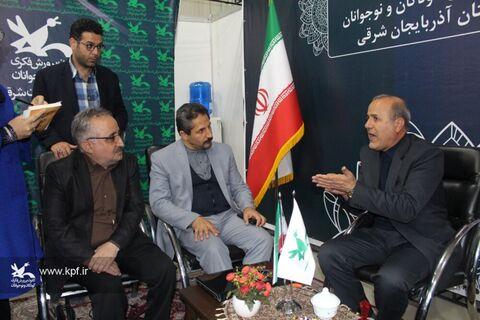 کانون در نمایشگاه بینالمللی کتاب تبریز حضوری فعال داشت