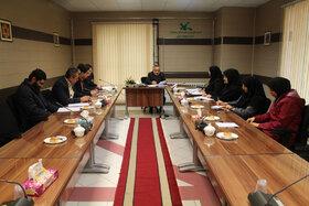 جلسه کارگروه توسعه مدیریت کانون استان آذربایجان شرقی