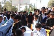 کانون پرورش فکری میزبان اعضا و دانشآموزان زاهدانی در روز ۱۳ آبان